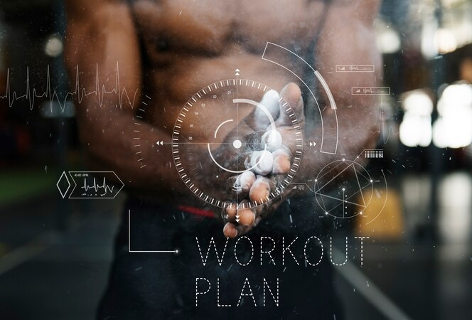 Estilo de vida de wellness health lifestyle palabra de entrenamiento