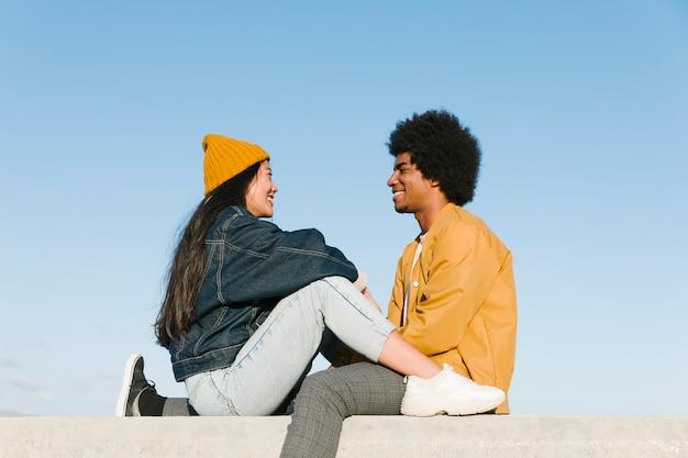 Estilo de vida de pareja joven