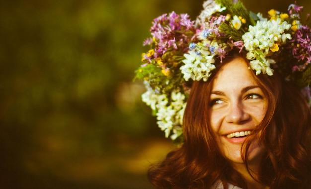 Estilo de vida suave modelo floración dulce
