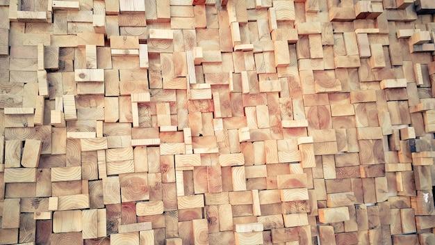 Estilo vintage fondo de textura cuadrada de madera vieja