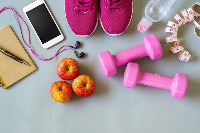 Estilos de vida saludables y activos concepto
