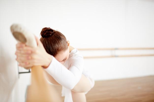 Estiramiento de ballet