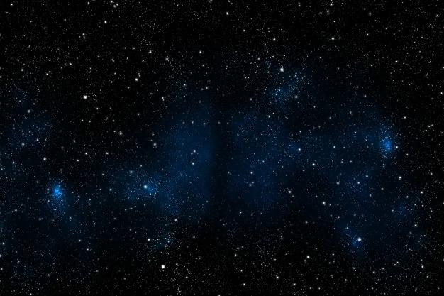 Estrellas de la galaxia en el universo fuera de la tierra