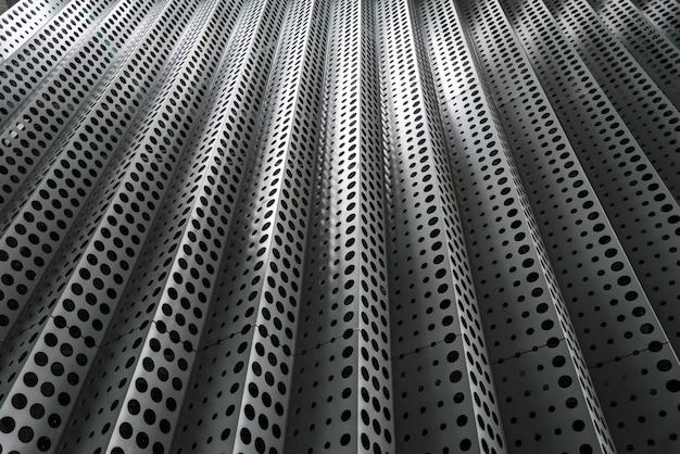 Estructura de construcción metálica abstracta