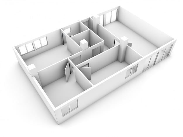 Estructura de maqueta