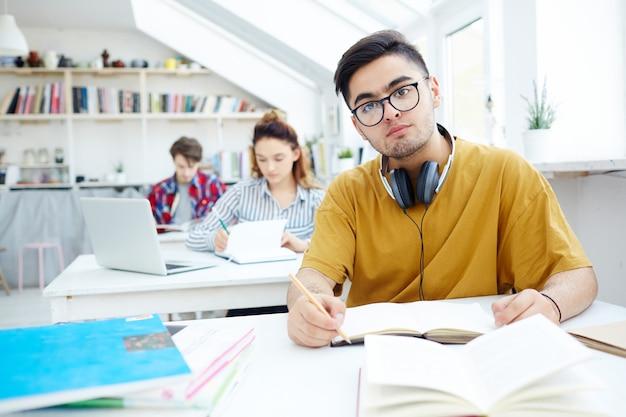 Estudiante serio