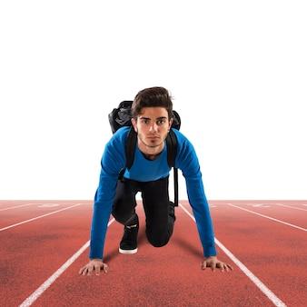 Estudiante velocista
