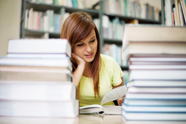 Estudio de biblioteca
