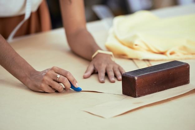 Estudio de diseño en sastrería