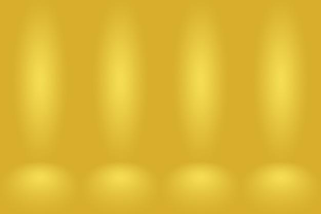 Estudio de oro de lujo abstracto bien utilizado como fondo, diseño y presentación