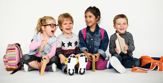 Estudio people kid modelo shoot race