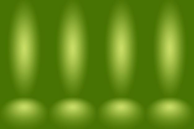 El estudio verde vacío se utiliza bien como fondo, plantilla de sitio web, marco, informe comercial.