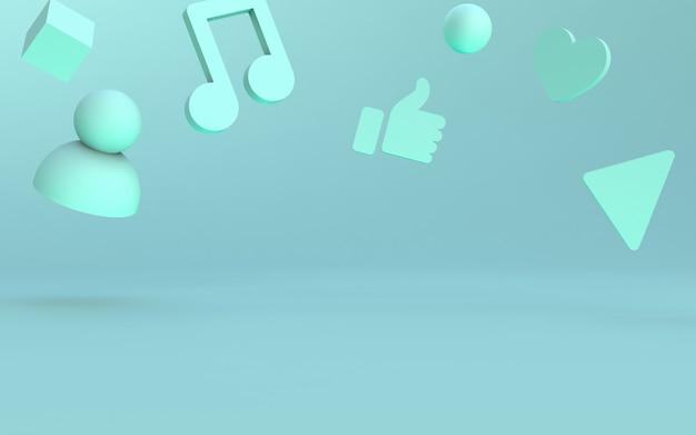 Etapa de iconos de redes sociales