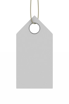 Etiqueta en espacio en blanco