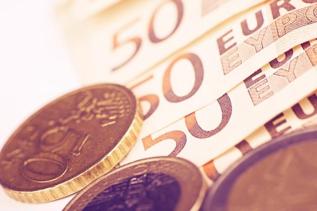 Euro euro moneda