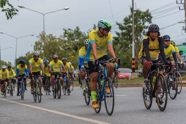 Evento ciclista bike un ai rak