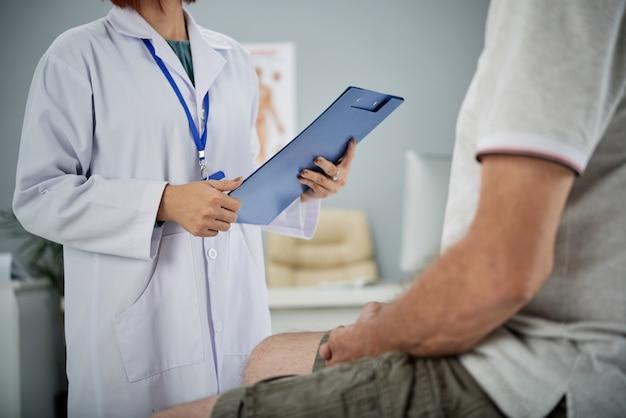 Examen médico Foto gratis