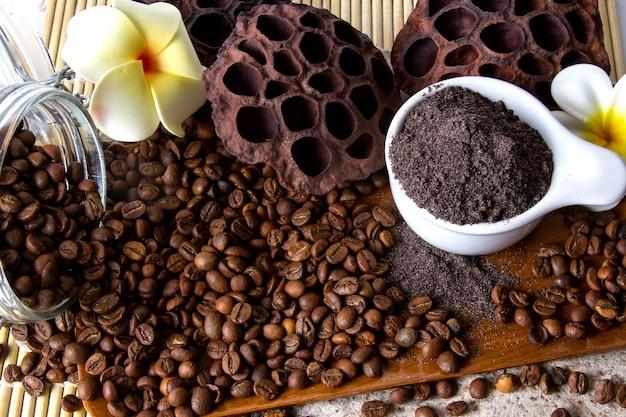 Exfoliante de café