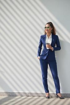Exitosa mujer de negocios