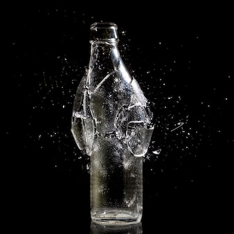 Explosión de botella