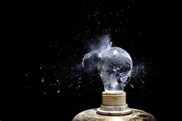 Explosión del bulbo