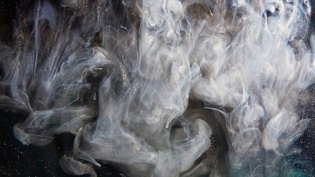 Explosión de humo abstracto