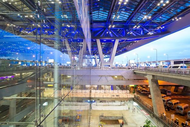 Exterior del aeropuerto de bangkok