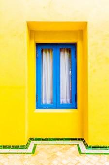 Exterior marroquí azul ciudad musulmana