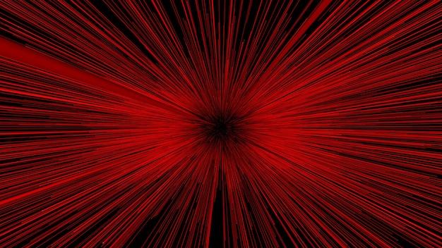 Los extractos rojos del fondo 3d rinden.