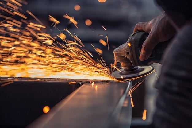 Fábrica de acero de soldadura