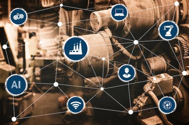 Fábrica inteligente para la cuarta revolución industrial