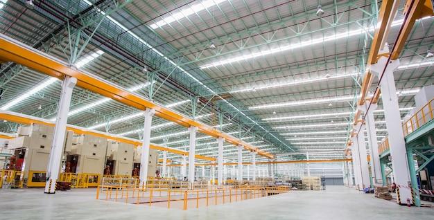 Fábrica de producción de acero.