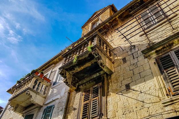 Fachada del antiguo palacio