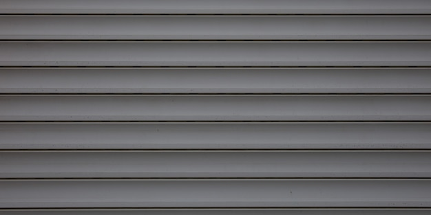 Fachada de fondo de acero gris gris en estilo industrial