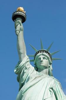 Famosa estatua de la libertad, nueva york.