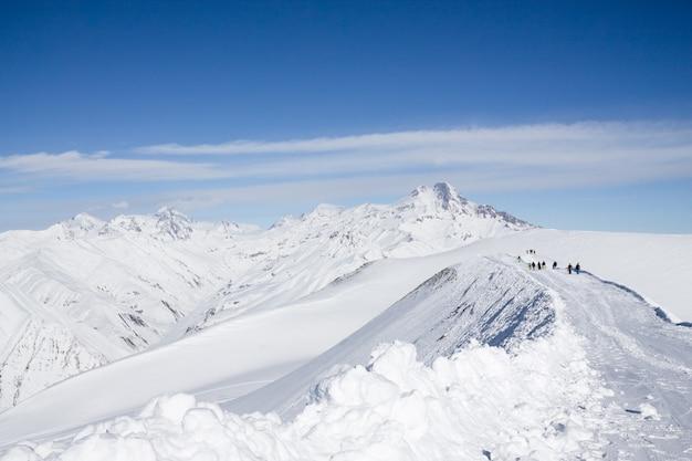 Fantástico paisaje invernal