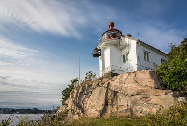 Faro de odderoya en kristiansand, noruega