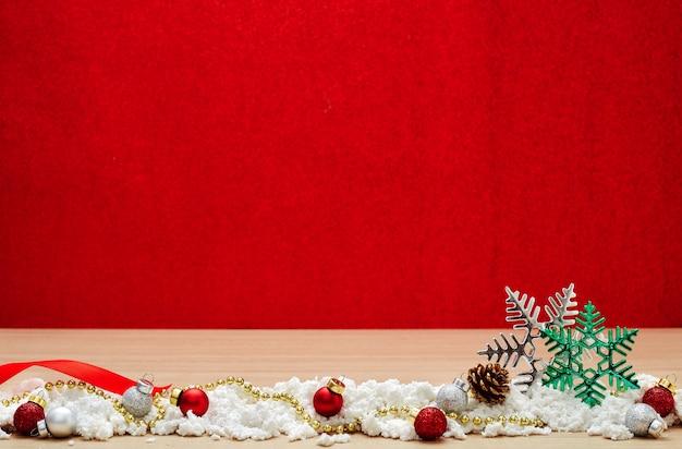 Feliz año nuevo 2020 navidad con decoraciones de celebración