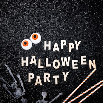 Feliz composición de halloween
