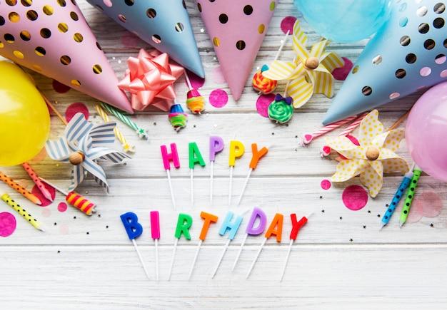 Feliz cumpleaños, fondo