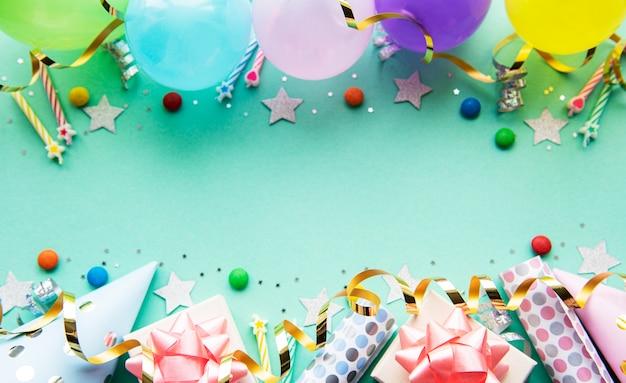 Feliz cumpleaños o fiesta