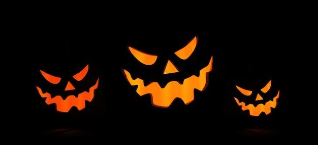 Feliz halloween. fondo de máscara de halloween