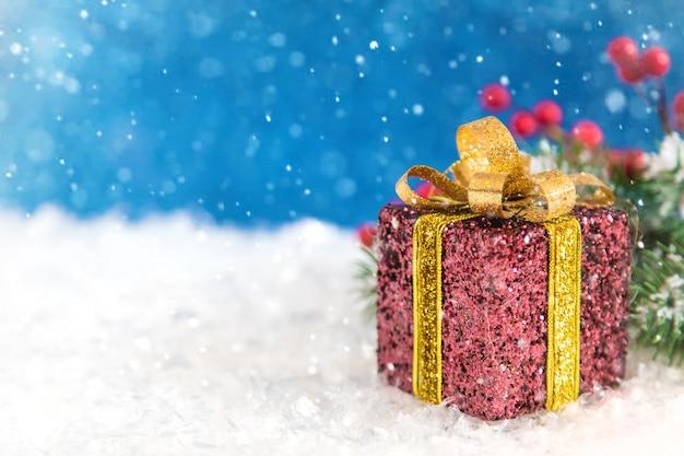 Feliz navidad y próspero año nuevo, fondo de tarjetas de felicitación de vacaciones. enfoque selectivo.