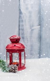 Feliz navidad y próspero año nuevo, temporada de invierno