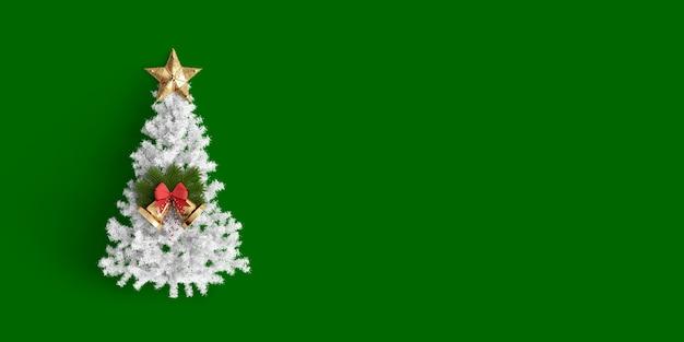 Feliz navidad sobre fondo de color