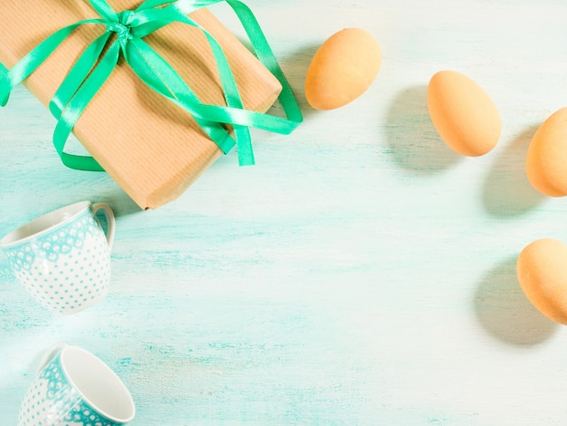 Feliz pascua pastel greeneggs regalo tazas espacio