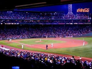 Fenway partido de béisbol, el deporte