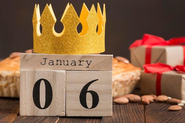 Festival de epifanía 6 de enero