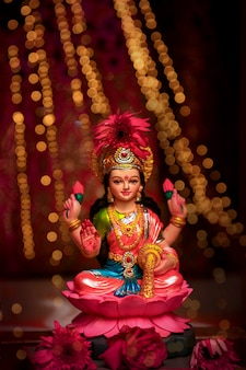 Festival indio diwali, laxmi pooja