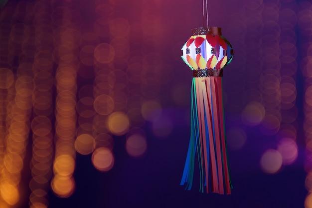 Festival indio diwali, linterna